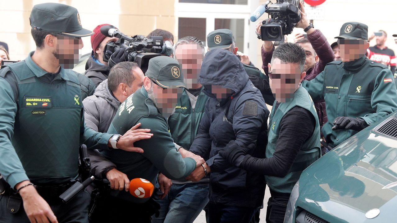 Jorge Palma, a prisión por la desaparición de Marta Calvo.Las protesta reunión a varios miles de personas en el centro de Argel
