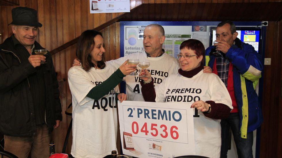El bar A Esquina, de A Pontenova, vendió un décimo del segundo premio