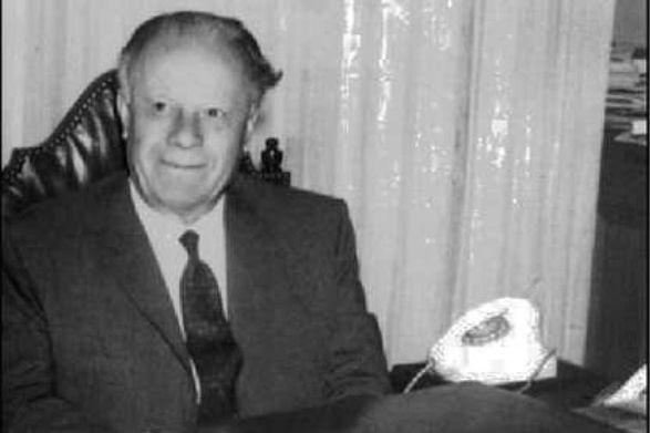 Alfredo Baltar, en una imagen de los años setenta del siglo pasado.