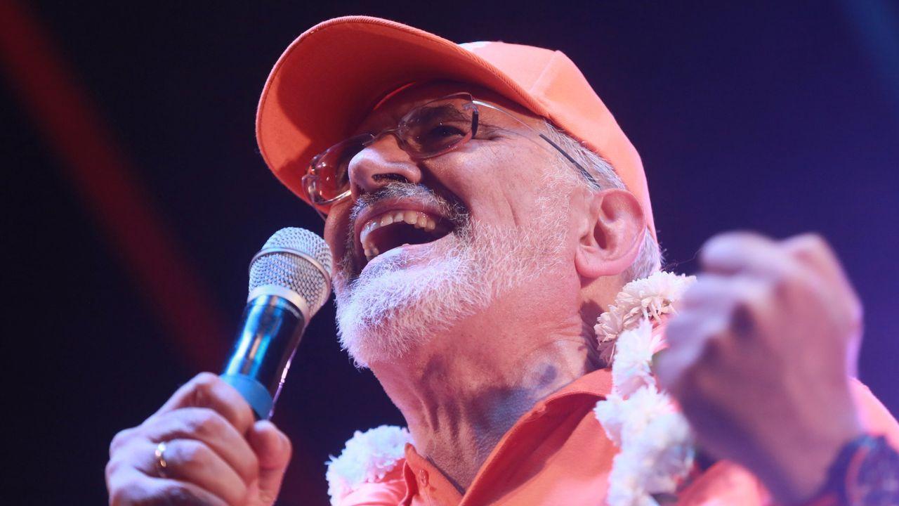 Carlos Mesa, líder de Comunidad Ciudadana y aspirante a presidir Bolivia