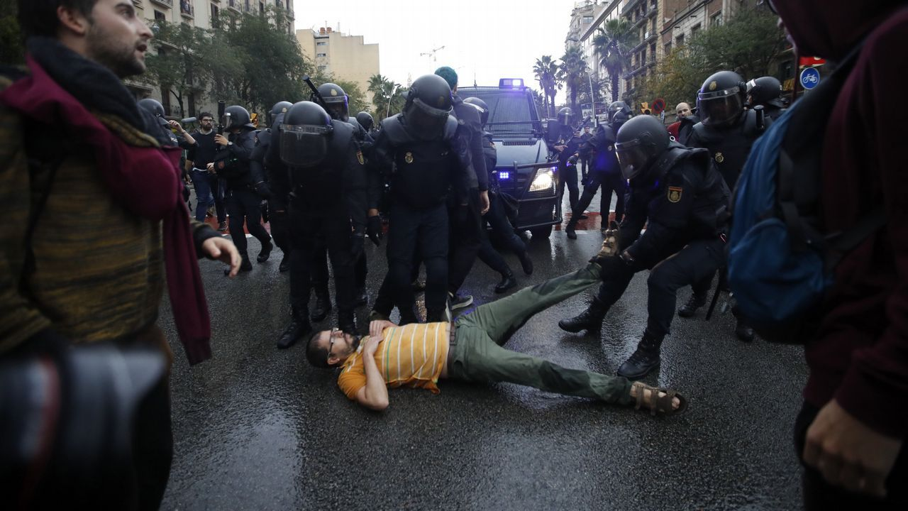Referendo ilegal de Cataluña.