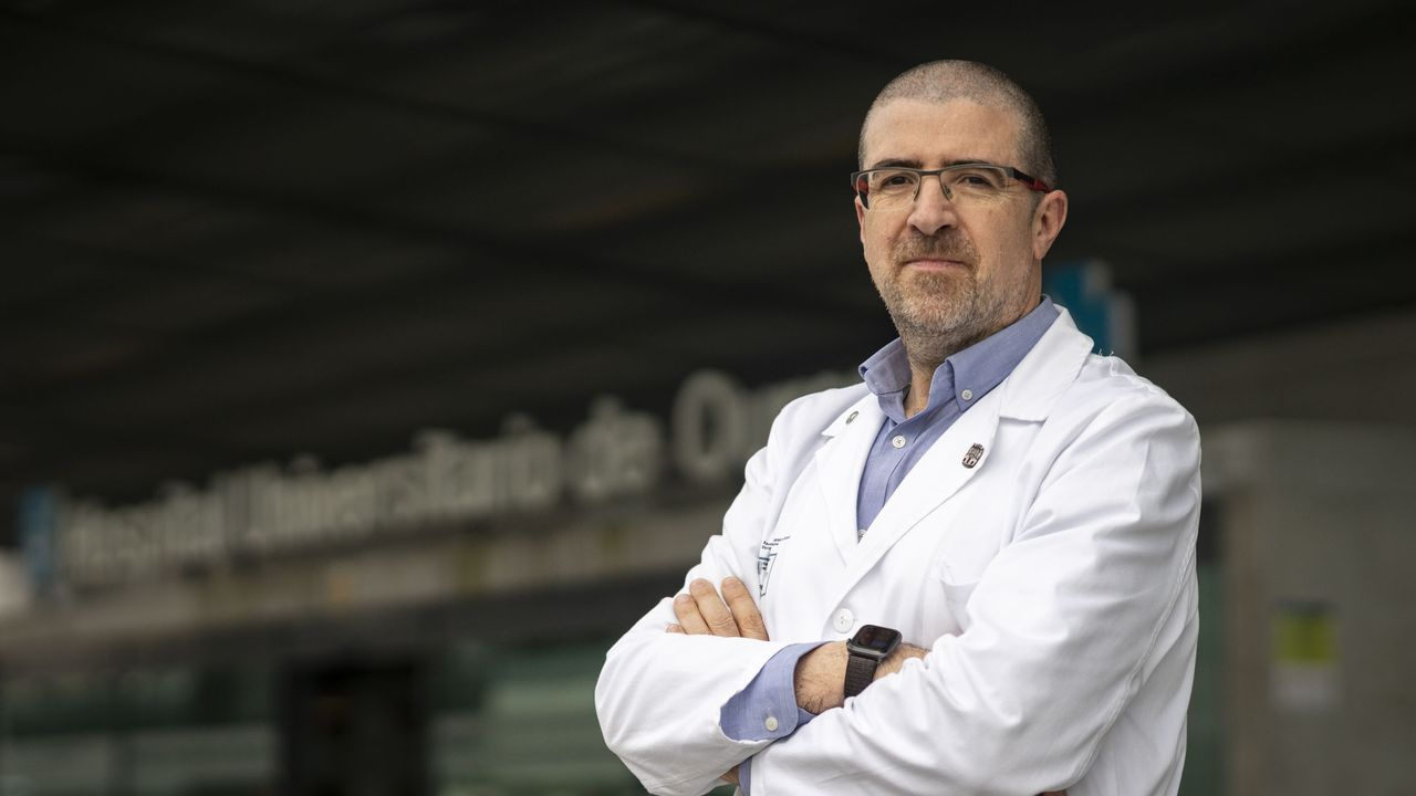Félix Rubial, gerente del CHUO