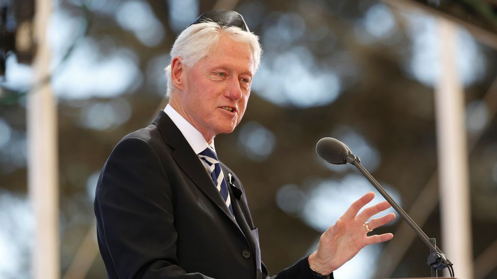El expresidente de Estados Unidos, Bill Clinton