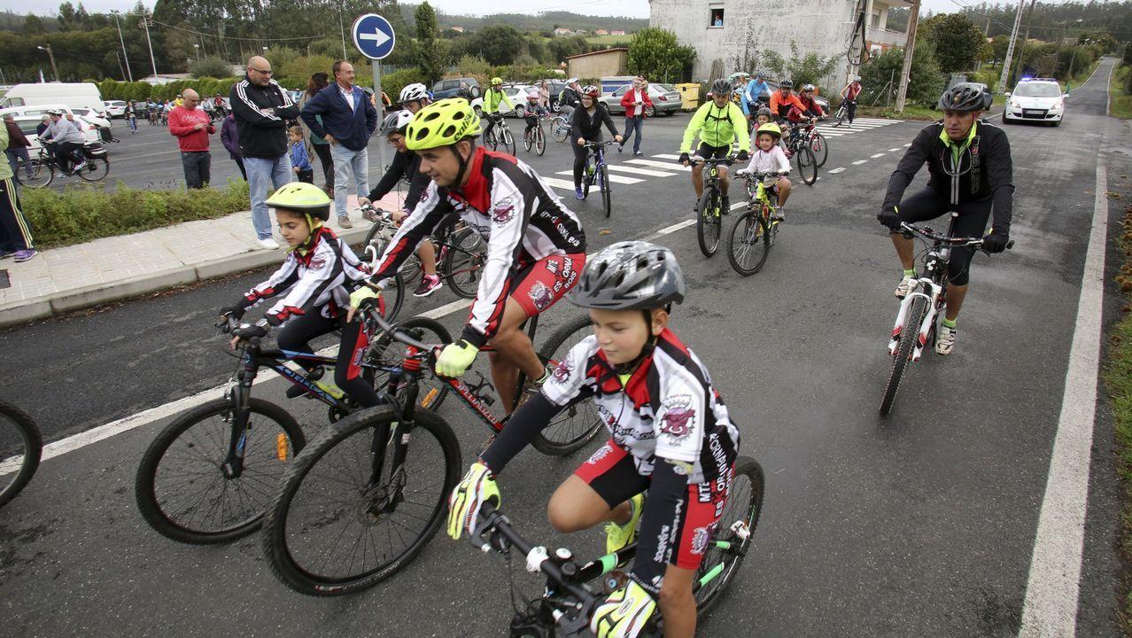 Xove celebra el Día de la Bicicleta.xposición «A astronomía como cha contan» na Casa das Ciencias