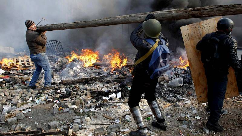 Noche sangrienta en Kiev