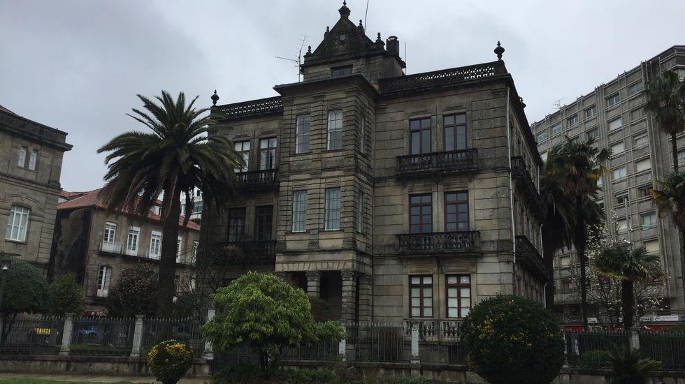 VILLA PILAR, DESDE LA ALAMEDA DE PONTEVEDRA
