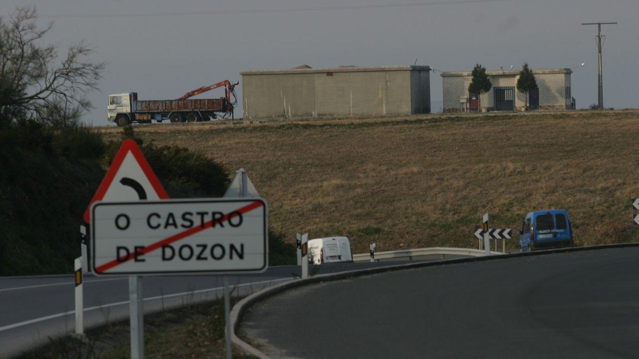 Imagen de un parque eólico de Greenalia en Vimianzo