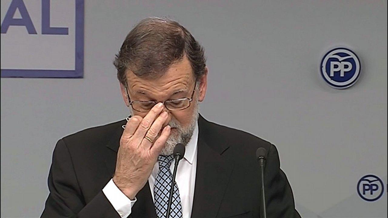 El PP se embarca en la búsqueda del sucesor de Rajoy.Congreso Nacional del PP, en 2017