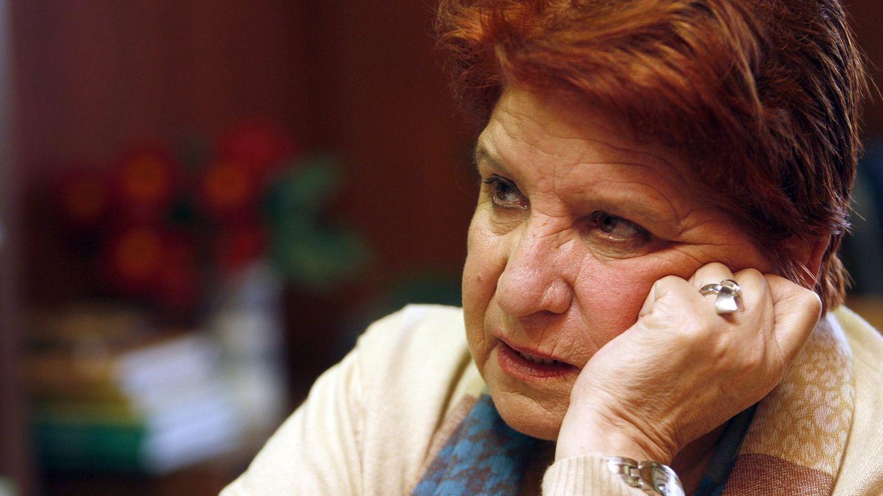 Foto de archivo de Carmen Avendaño, presidenta de Érguete, asociación de ayuda al toxicómano