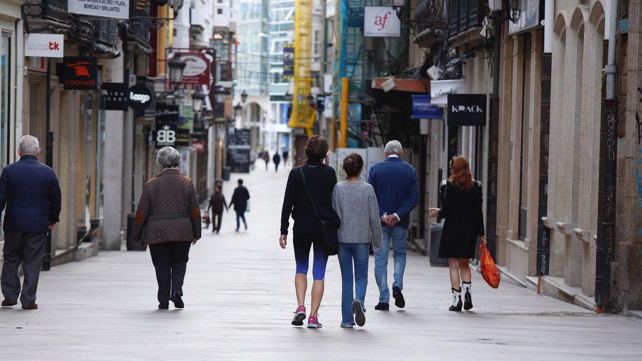 Paseando por el centro de A Coruña