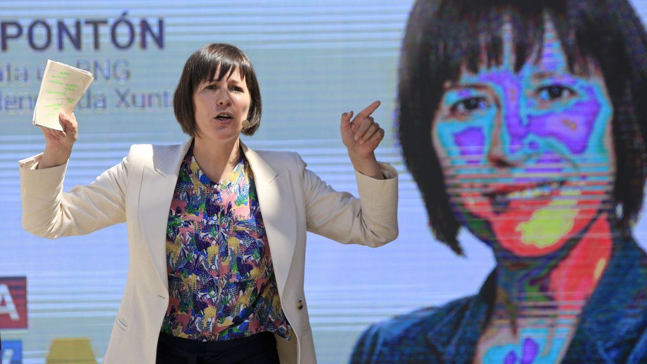 Ana Pontón nació en Sarria