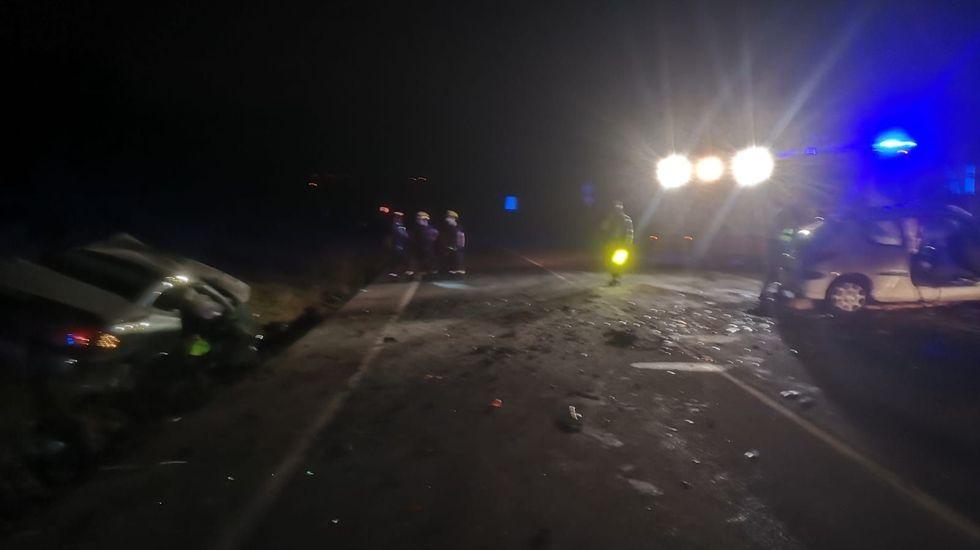 gol Nahuel Borja Sanchez Las Palmas Real Oviedo Estadio Gran Canaria.Imagen del accidente mortal, que se produjo poco antes de las siete de la tarde