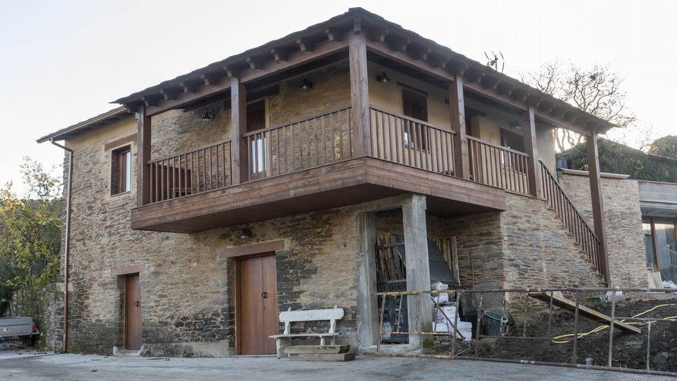 Arquitectura de tipo tradicional en Vilasouto