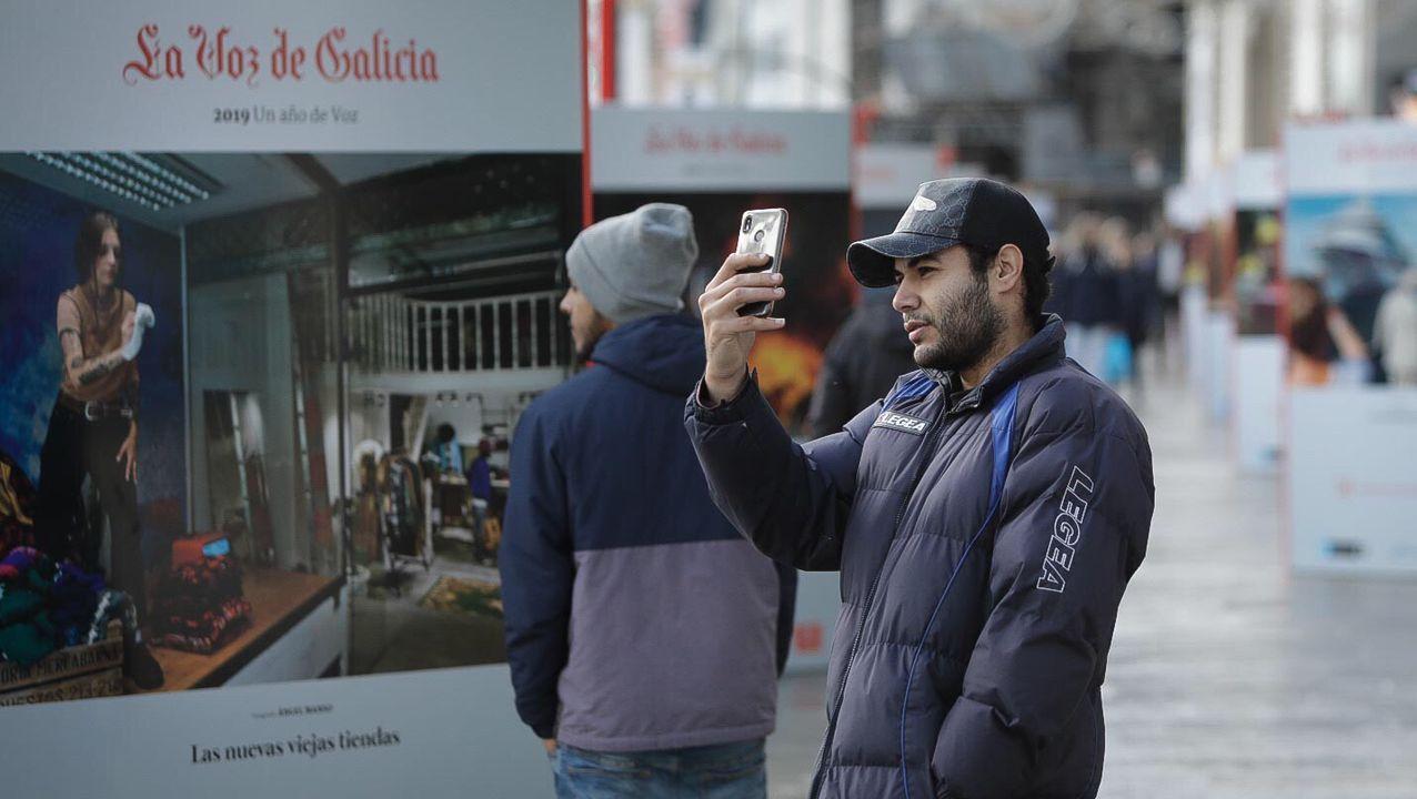 Un Año de Voz vuelve al Obelisco.El carril bus en Federico Tapia, tal y como estaba en el 2009