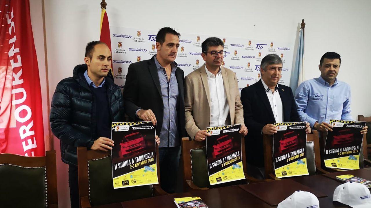 Roberto Soto formó parte de la organización del Rali Ribeira Sacra desde su primera edición