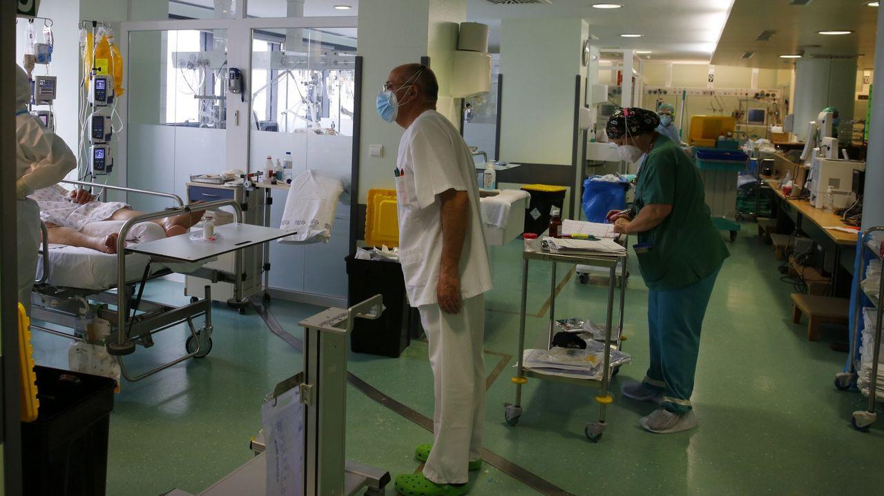 Pontevedra y O Salnés invitan a dar un paseo y descubrir sus lugares con encanto.Unidad de reanimación del hospital Montecelo, en Pontevedra, transformada en una unidad covid