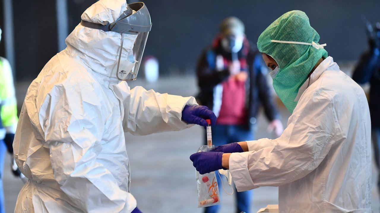 Un 20% de los contagiados por coronavirus es personal sanitario