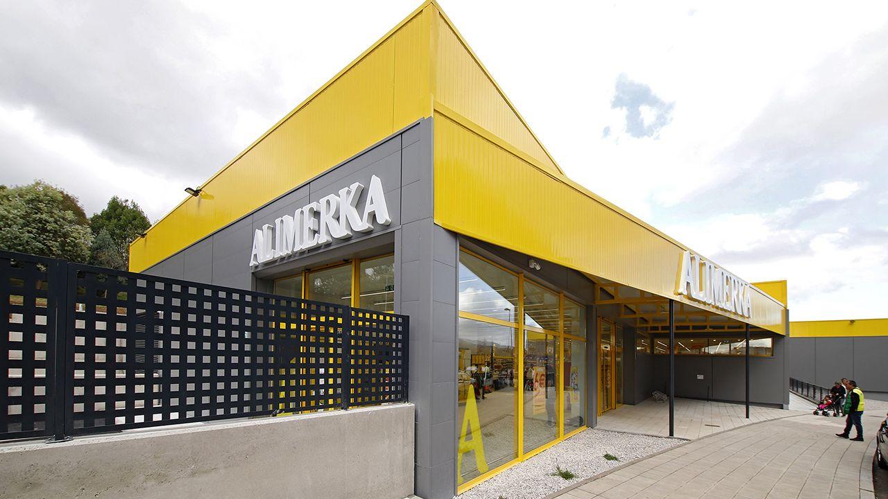 Supermercado Alimerka en Nuevo Roces, Gijón