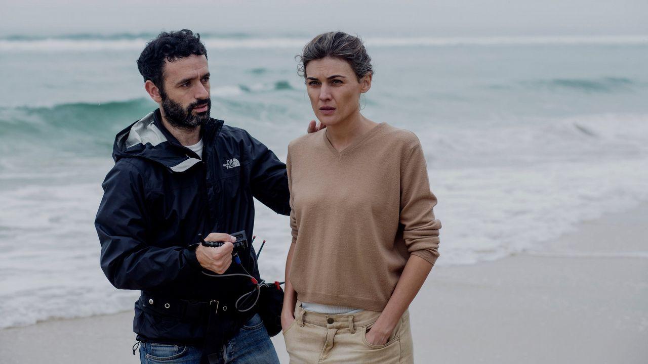 Todas las fotos de lagala de los Óscar 2019.Sorogoyen da instrucciones a la actriz Marta Nieto durante el rodaje de «Madre»