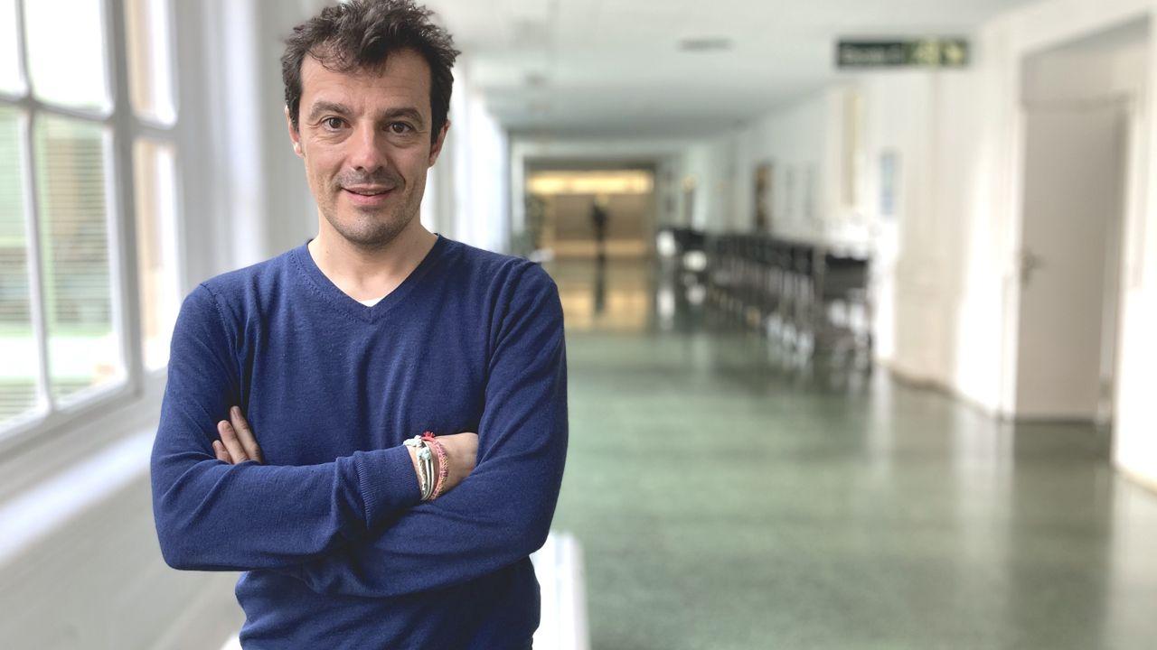 El investigador asturiano Pablo Menéndez