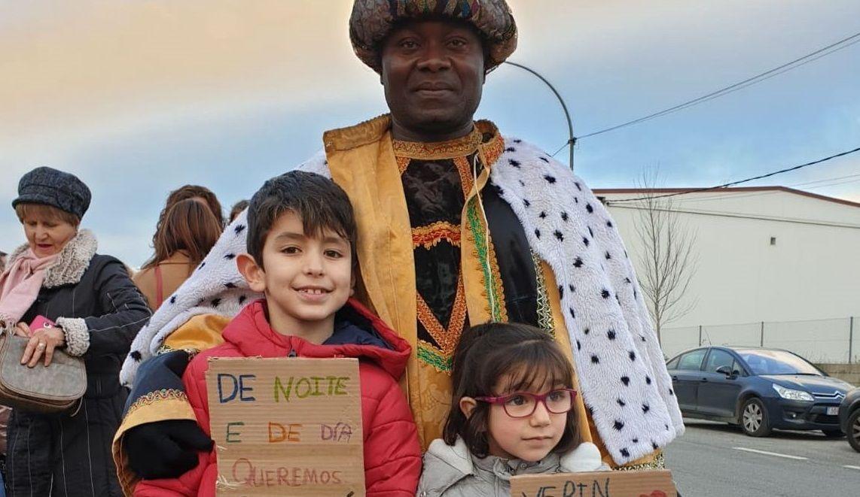 Las cabalgatas de Reyes en Asturias.Brión