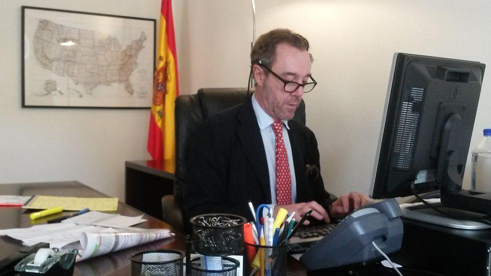 Antonio Trevín, durante una intervención en el Congreso.El diputado socialista por Asturias, Antonio Trevín,