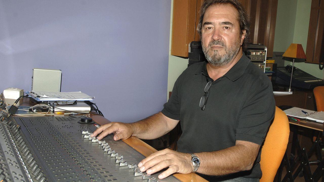 Fotografía de archivo (11-09-2009) del cantante y actor Patxi Joseba Andión González, conocido como Patxi Andión