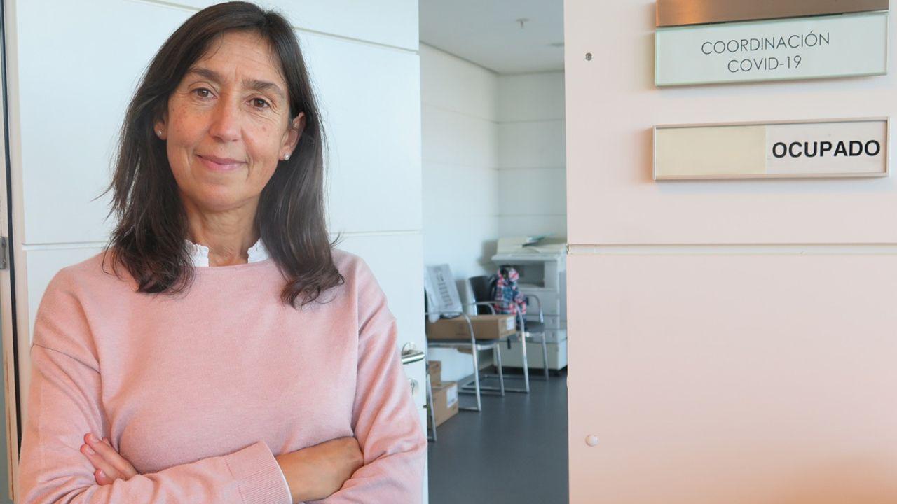María José Villanueva, coordinadora de los programas Covid en Asturias