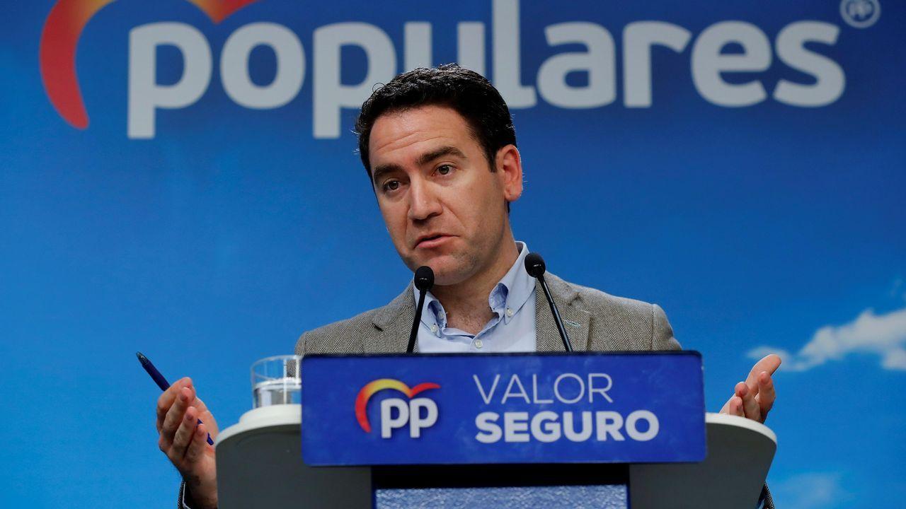 El PP reclama el papel de Casado como líder de la oposición.Pablo Casado