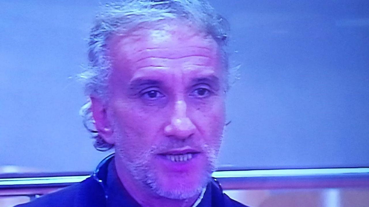 Fernando Blanco, durante el juicio