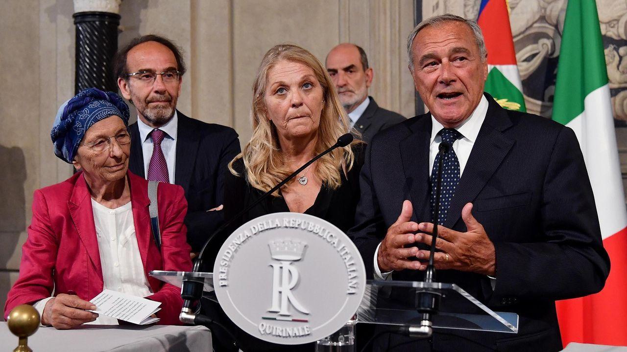 Sergio Mattarella  inició  las consultas con los representantes de grupos minoritarios