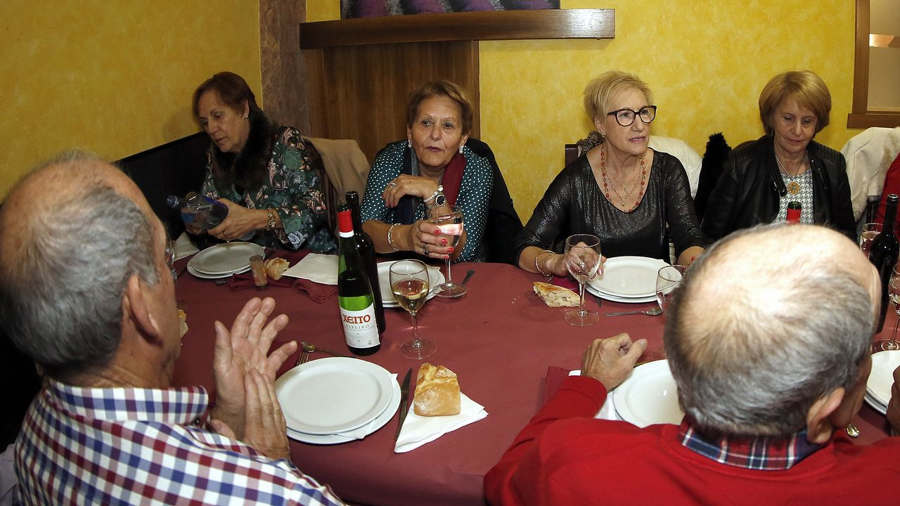 Comida de Reyes para  los mayores de Rianxo