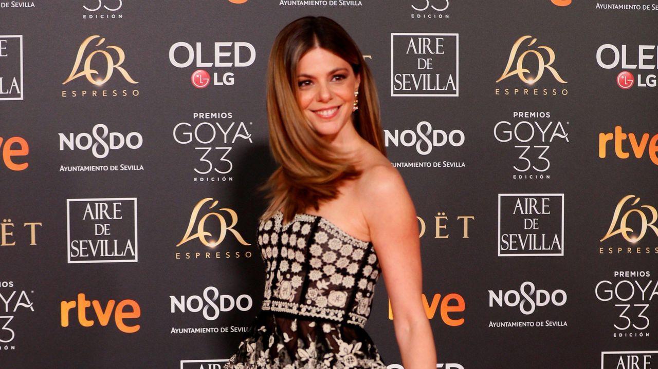 La actriz Manuela Velasco, con un vestido de Dior