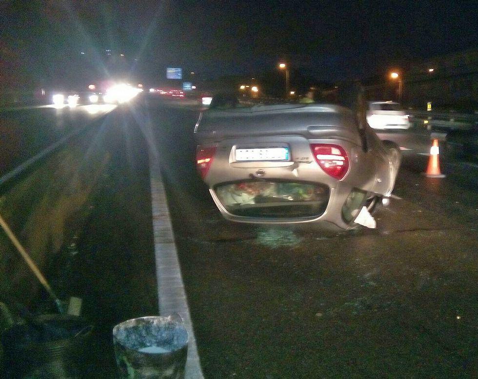 La víctima pudo salir por su propio pie y fue trasladada en ambulancia al hospital Álvaro Cunqueiro