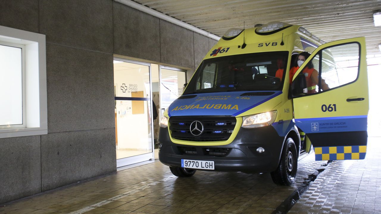 Los traslados a otros hospitales de Galicia desde Ferrol comenzaron en noviembre