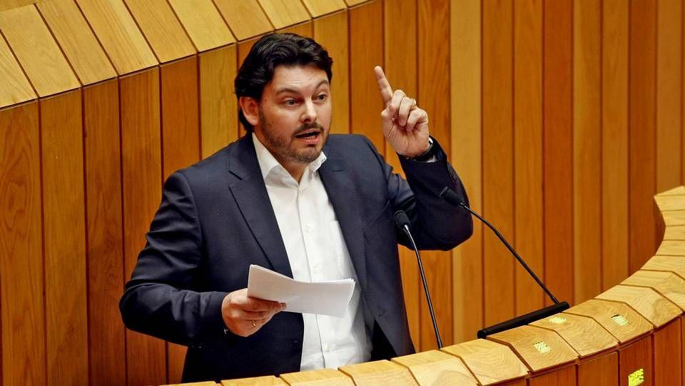 Antonio Rodríguez Miranda, secretario xeral de Emigración