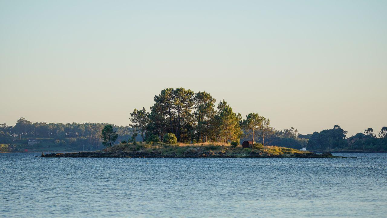 Isla de Piñeiro, en Boiro