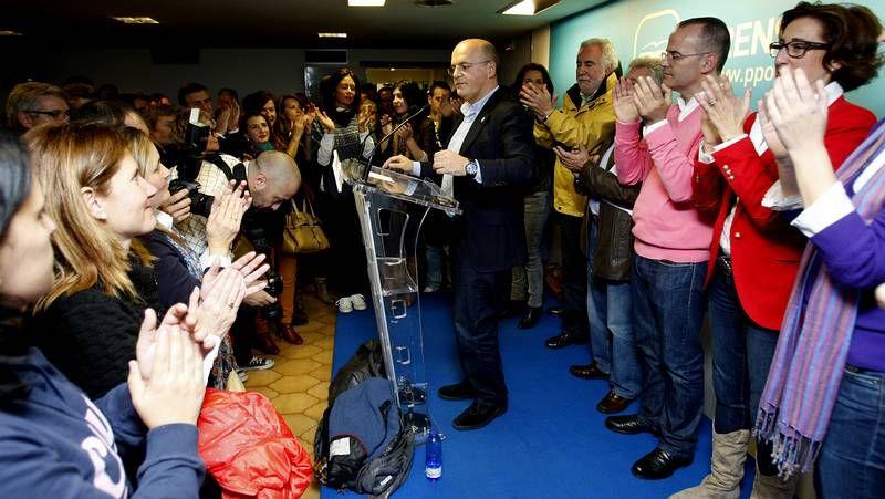 Cachafeiro -en foto de archivo, con Fraga- se felicitó por su 62,2%