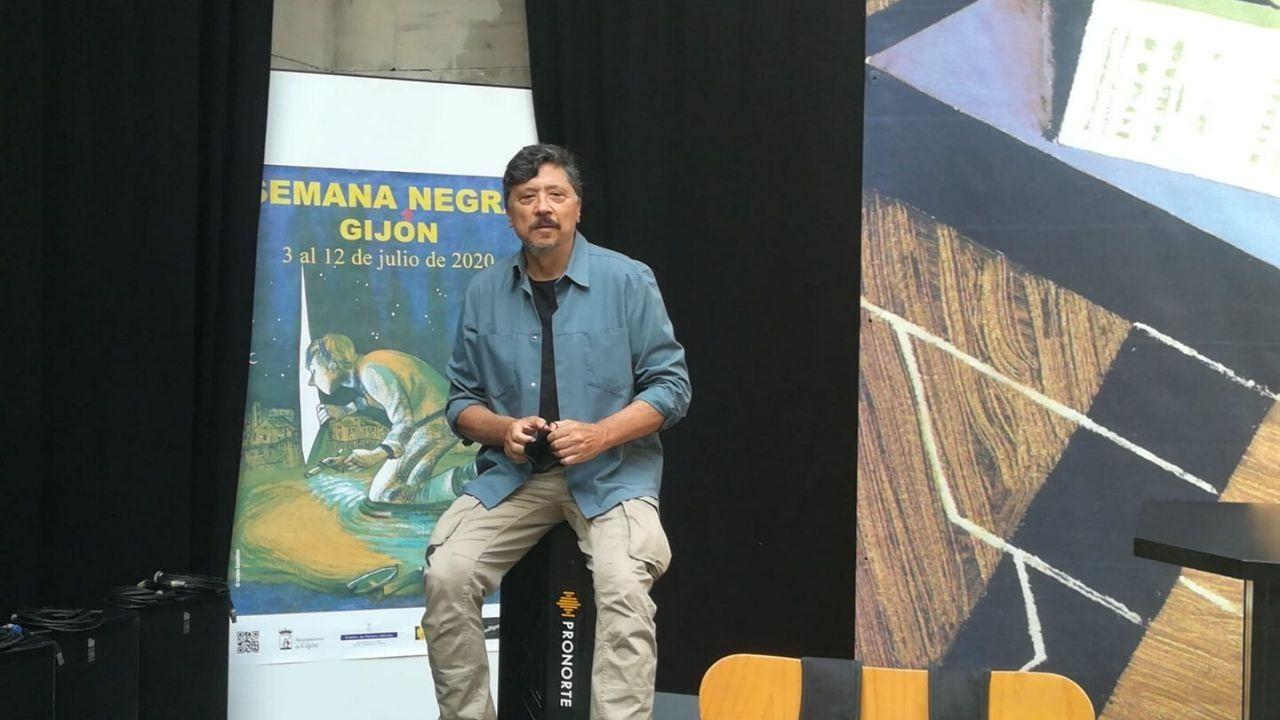 Rubén Pérez Carcedo, concejal de Ciudadanos en el Ayuntamiento de Gijón.Carlos Bardem