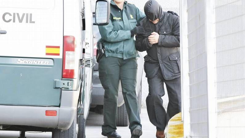 Declaraciones en los juzgados de Lugo de los detenidos en la operación Manga.Traslado a la prisión de Bonxe de José Luis Míguez, gerente de Aquagest en Santiago
