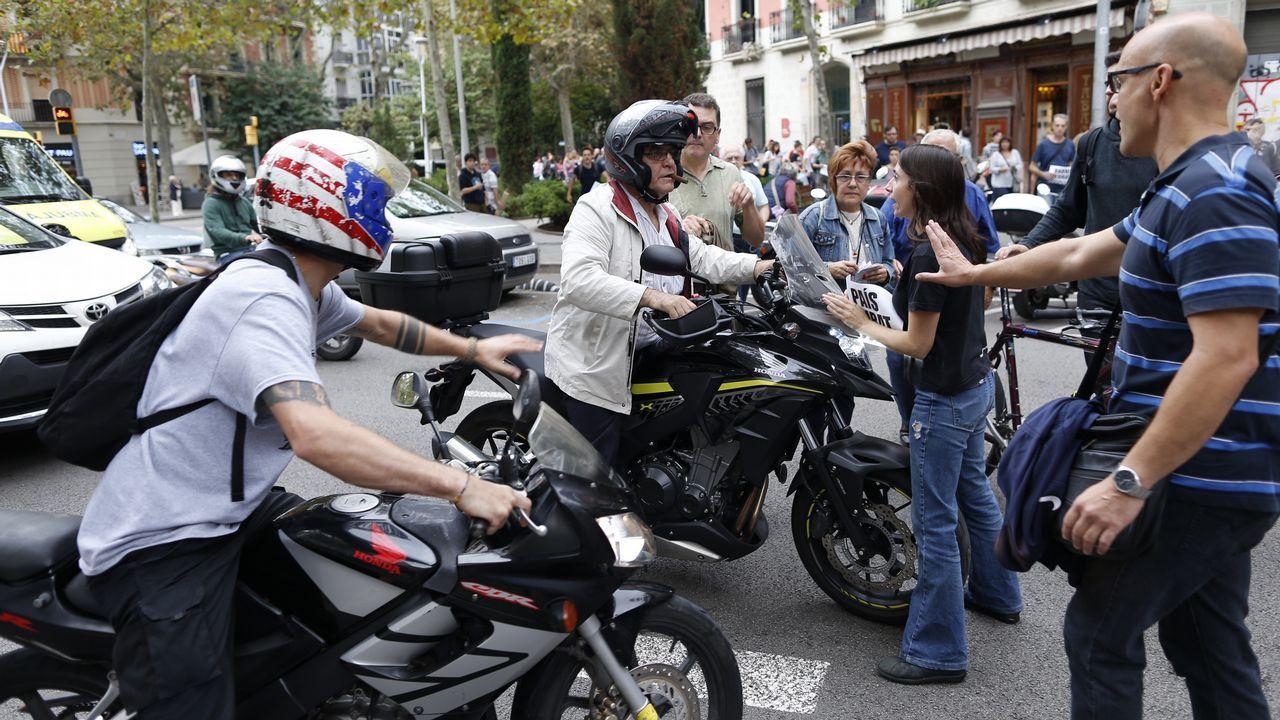 Jornada de huelga en Cataluña.