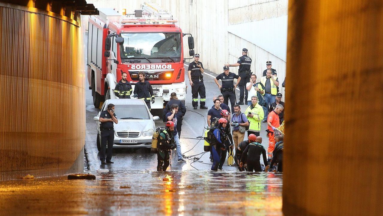 Un hombre muere en Almería a causa del temporal.Riadas en Almoradi, Alicante
