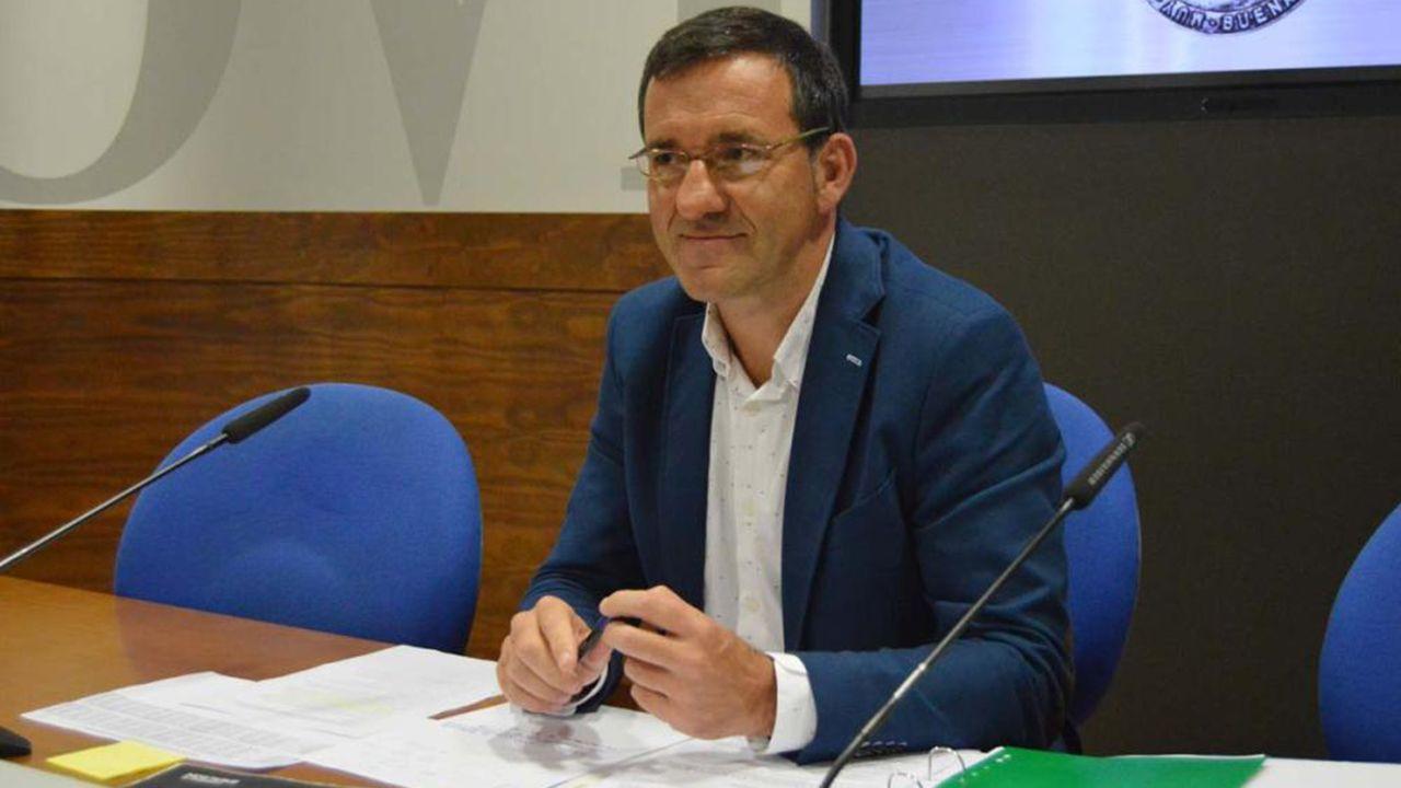 Anabel Santiago responde a las acusaciones de Mario Arias en redes sociales.Javier Cuesta, concejal de Economía del Ayuntamiento de Oviedo