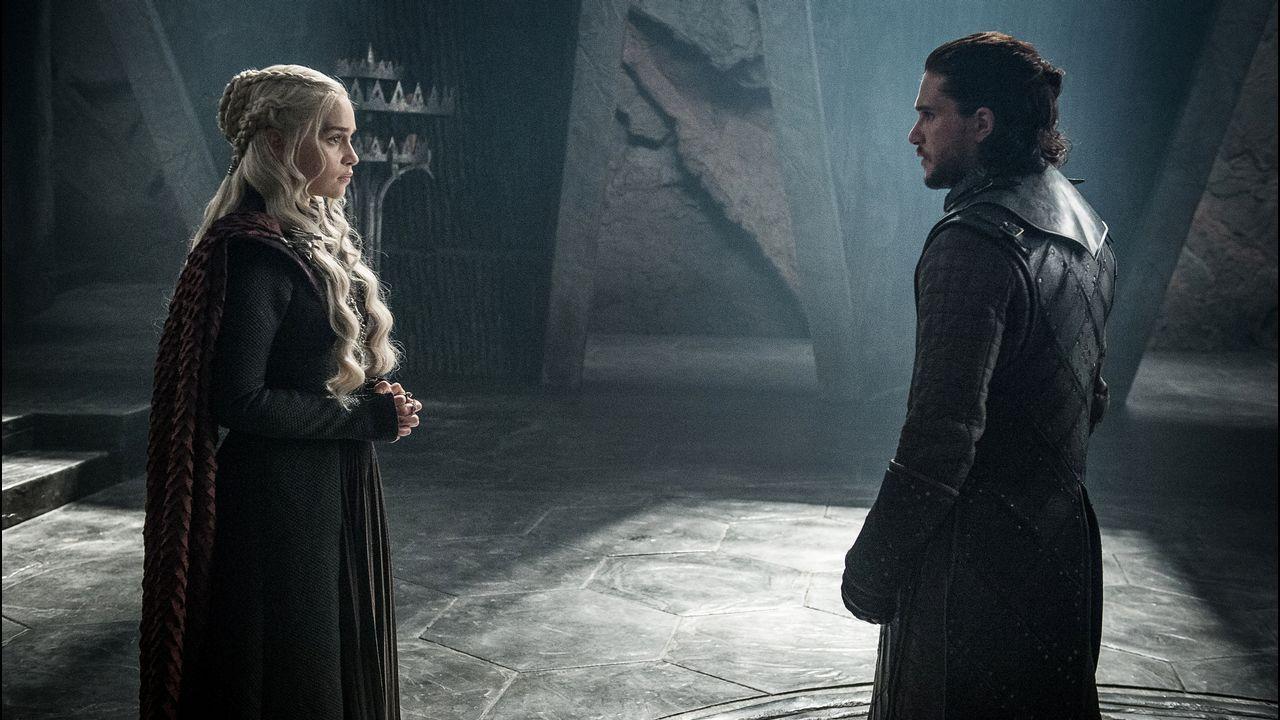 El tráiler de la octava temporada de «Juego de tronos».Arya, Sansa y Jon en el tráiler de la octava y última temporada de Juego de Tronos