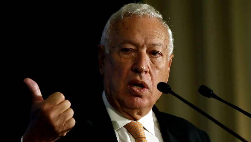 García Margallo, sobre la Diada: «Es una muestra de que en España hay libertad de expresión»