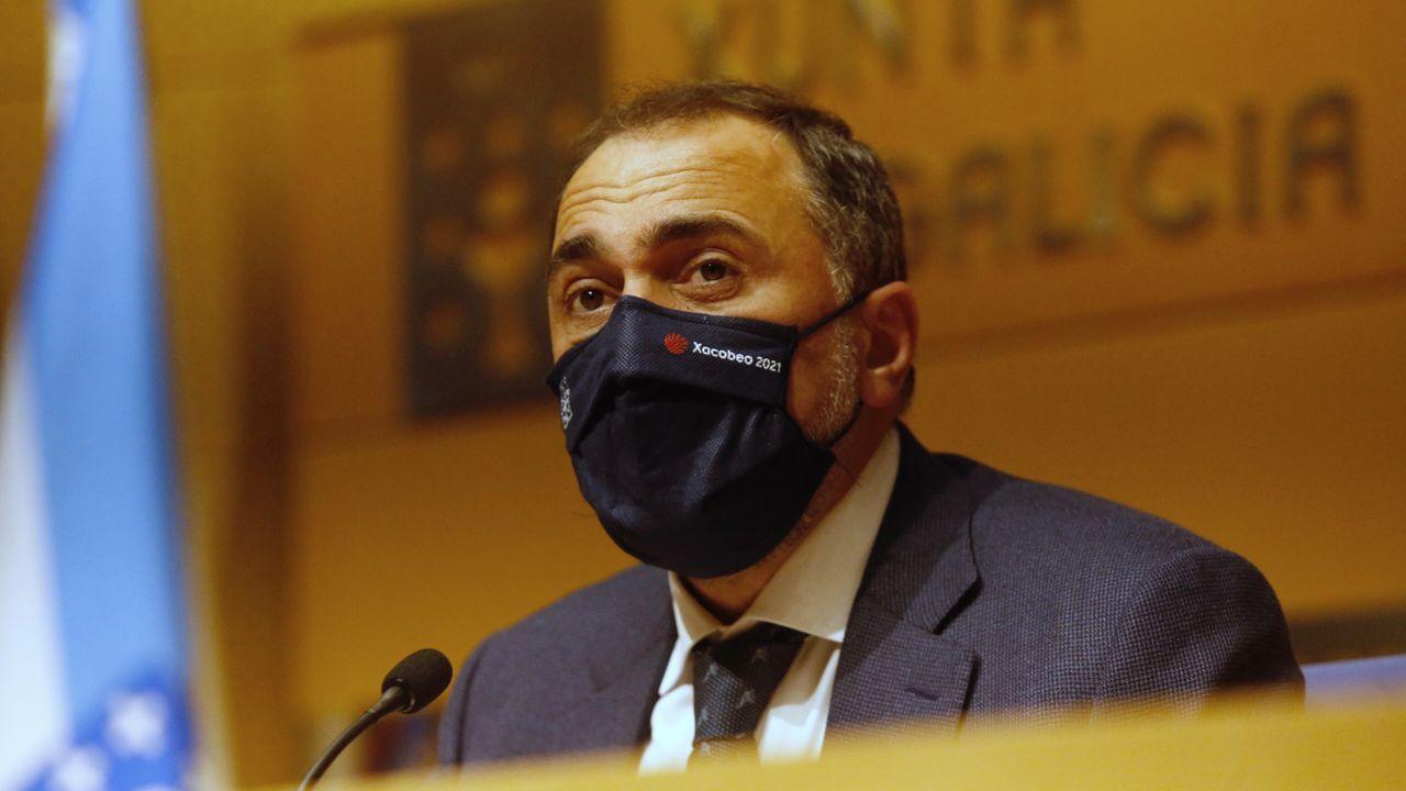 El conselleiro Julio García Comesaña