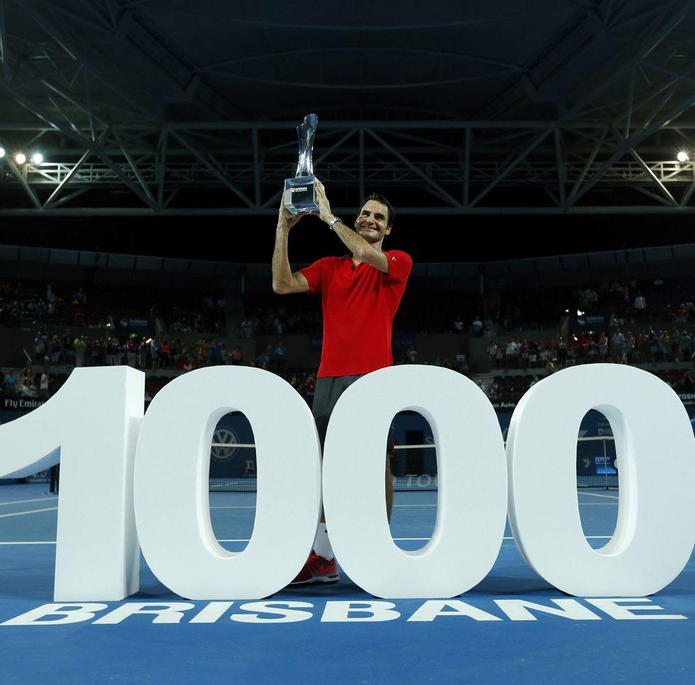 Tras celebrar en Brisbane su victoria número mil, Federer afrontará el Open de Australia.