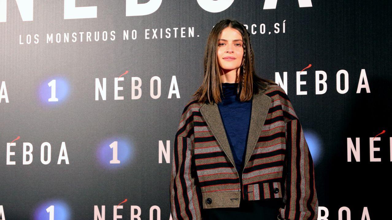 Alba Galocha interpreta a Vega, la hija de la teniente Mónica