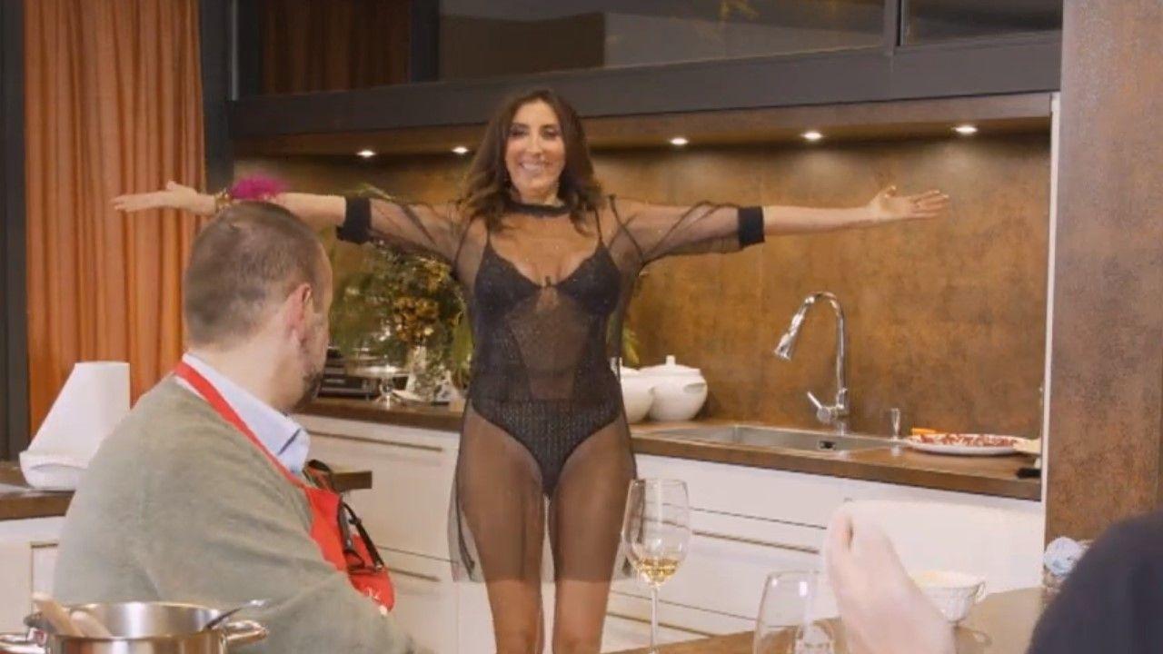 Andrea Torre Desnuda la pulla de paz padilla a cristina pedroche por su vestido