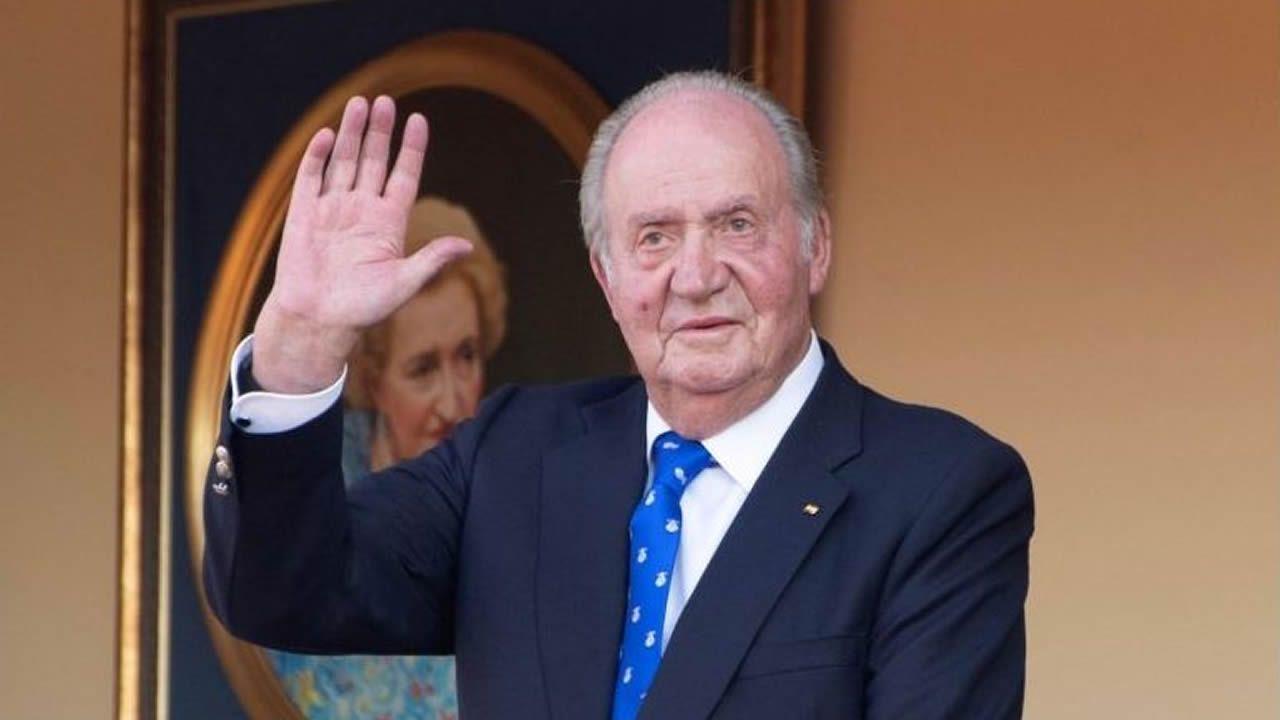 arrastrero .El rey Juan Carlos fue señalado por la alemana Corinna Zu Wittgenstein en una conversación grabada por el excomisario Villarejo en Londres
